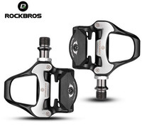 ROCKBROS SPD SL Road Bike Bicycle Self Locking Pedals Ultralight Aluminum Alloy 2 Sealed With Road