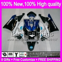 KONICA blue Fairing For HONDA CBR919RR 98 99 CBR900RR 98 99 35B11 CBR 919RR CBR 919 RR CBR919 RR 1998 1999 +decal Blue white