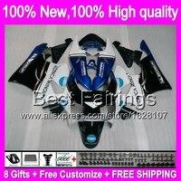 Konica blueフェアリング用honda cbr919rr 98-99 cbr900rr 98 99 35b11 cbr 919RR cbr 919 rr cbr919 rr 1998 1999 +デカールブルーホワイ