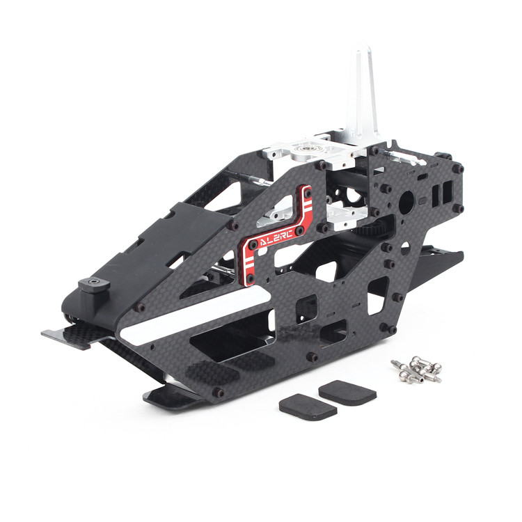 ALZRC RC Helicopter Parts Devil 465 RIGID Main Frame Assembly For Align T REX450L H450L0A