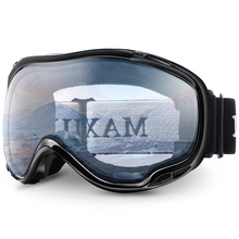 JULI Snow Goggles Winter Snow Sports Snowboard Over Goggles with Anti-fog UV Protection for Men Women mask Snowmobile Goggle M1