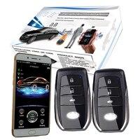 Gsm gps умная автомобильная система охранной сигнализации Автомобильная электроника Автомобильная сигнализация с Дистанционное включение в
