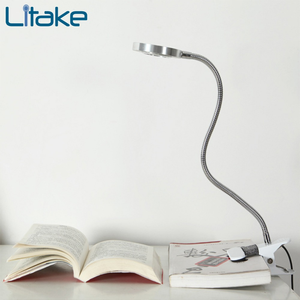 Litake usb table lamp desk led desk lamps flexo flexible lamp office table light bureaulamp led lamp table Cold/Warm Light scuba dive light