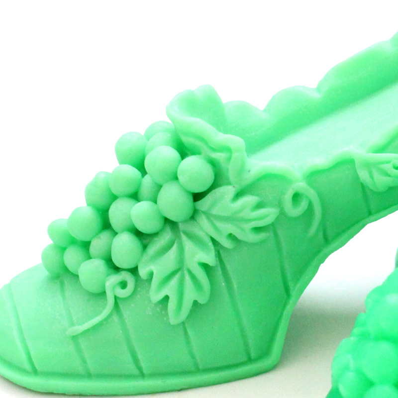 Silicone Soap Mold High Heels Shape Handmade Candle Decorating Tools Home Decor Gift in Soap Molds from Home Garden