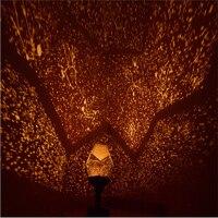 New Celestial Star Projector Lamp Cosmos Night Light Starry Sky Romantic Lamp Bedroom Decoration Lighting Gadget 150903
