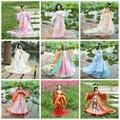 Китайский Древний Костюм Одежда для 29 см Объединенная KURHN куклы Ручной Работы куклы одежда для 1/6 Bjd куклы Девушка Игрушки Куклы аксессуары