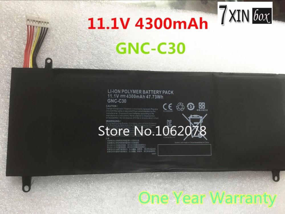 New 11 1V 4300mAh 47 73Wh Laptop Battery GNC C30 for GIGABYTE U2442 U24F P34G V2