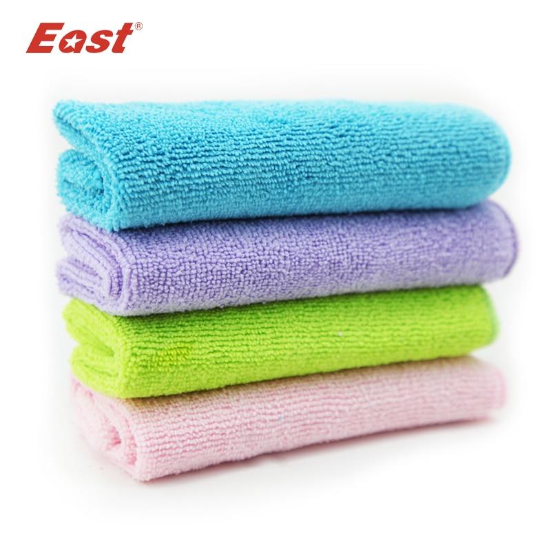 4 kos / lot Super Combo mikrovlakna za čiščenje krpe za brisanje brisač Visoka učinkovitost za namizno gospodinjsko orodje za čiščenje