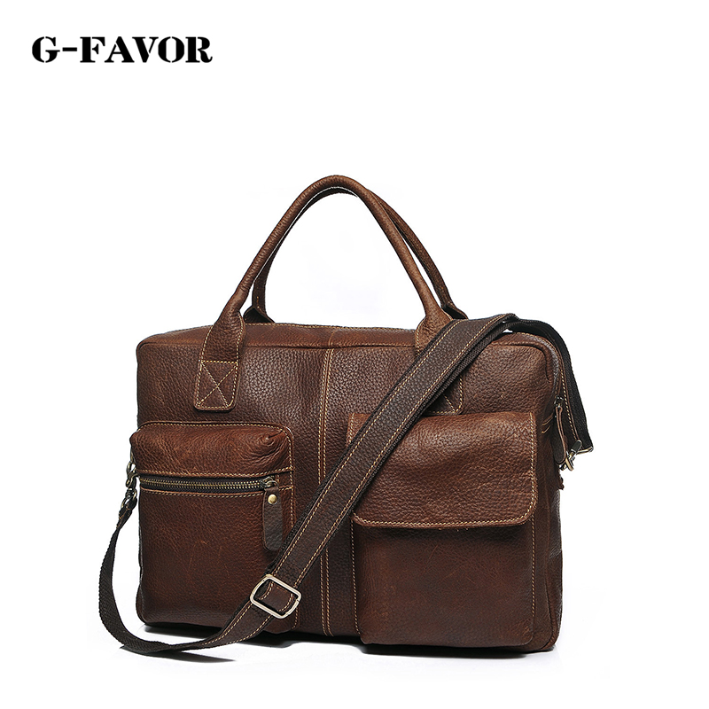 лучшая цена Vintage Crazy Horse Leather Men Shoulder Bag Crossbody Bag Men's Messenger Bag Genuine Leather Bag male Leisure Cowhide 2017