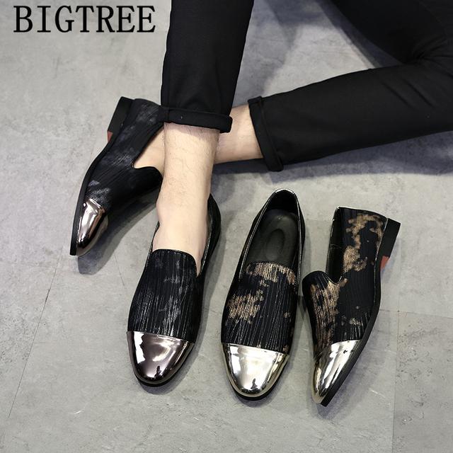 italian shoes men dress formal shoes men 2019 coiffeur loafers men shoes leather luxury dress sapato social masculino ayakkabi