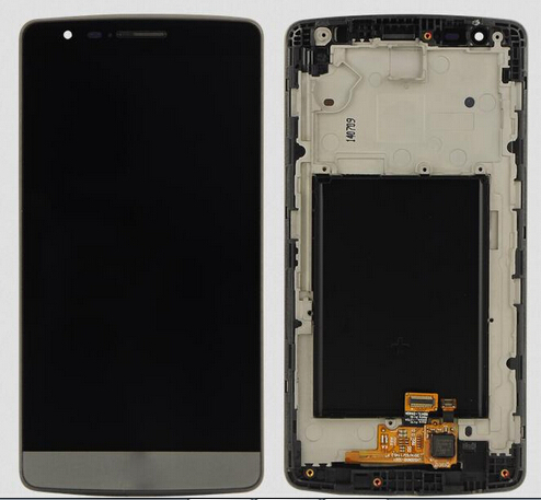 Grey White color For Lg optimus G3 mini G3s D722 D724 Lcd Display With Touch Glass