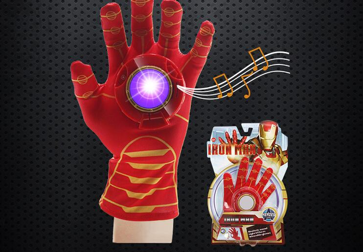 star was ultraman WEAPON Launcher Toys Boy Captain America Iron man Hulk Batman Glove  Christmas Gift  Halloween COSPLAY Costume
