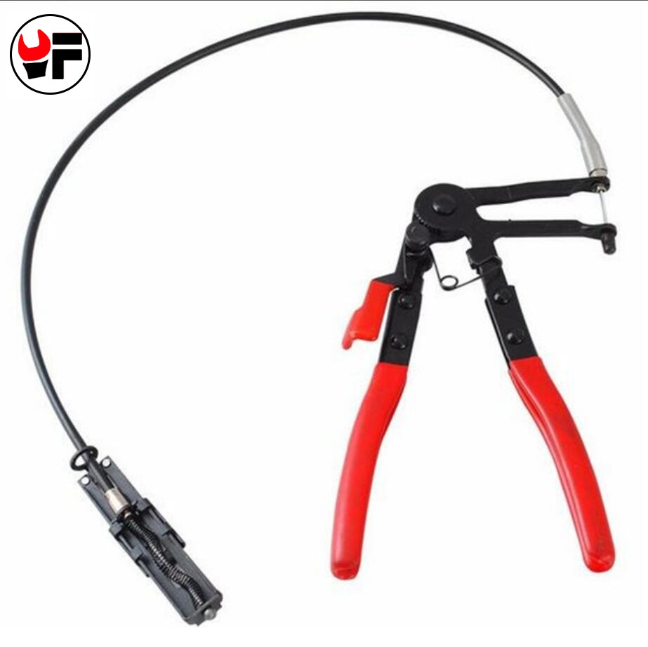 Auto Vehicle Tools Cable Type Flexible Wire Long Reach Hose Clamp ...
