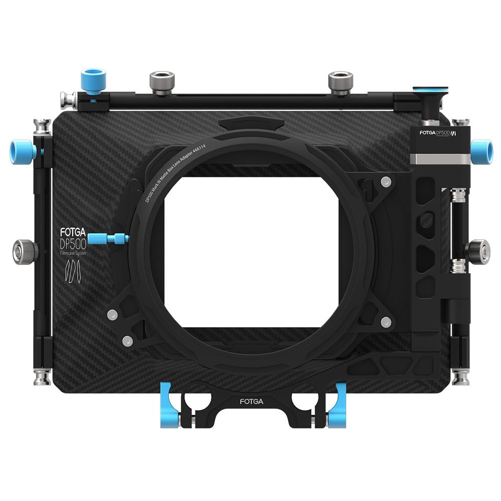 FOTGA DP500III DSLR Swing-away Matte Box+ND1000 4X4