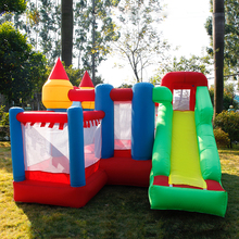 New Bounce House Jumping Castle With Inflatable Trampoline For Kids Toys Ball Pit And Slide Bouncy