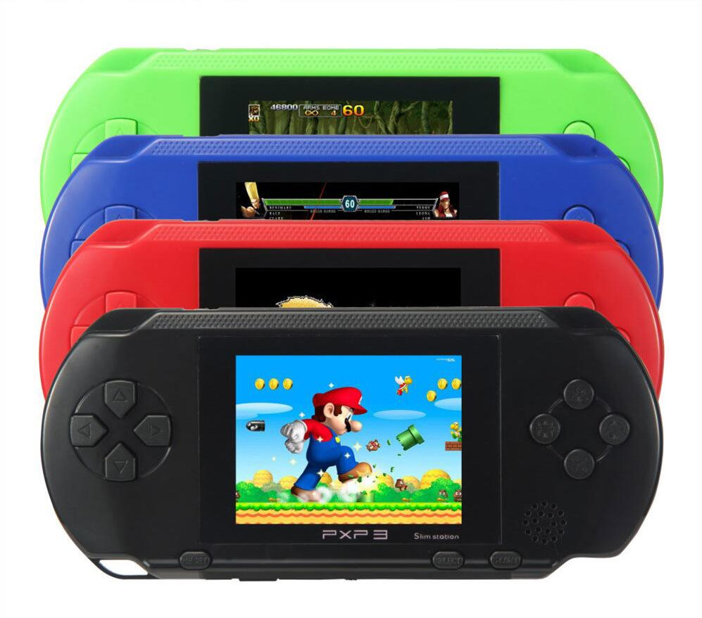 Hot Sale 2016 PXP3 16 bit Handheld Game Console Portable ...