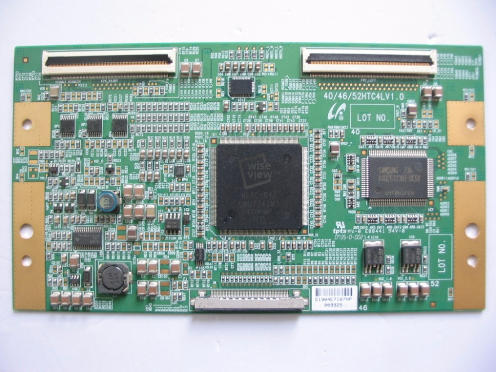 Бесплатная доставка 46C3000C LA40N81B LA46N81B T-con 40/46/52HTC4LV1.0 оригинальные запчасти 40/46/52HTC4LV1.0