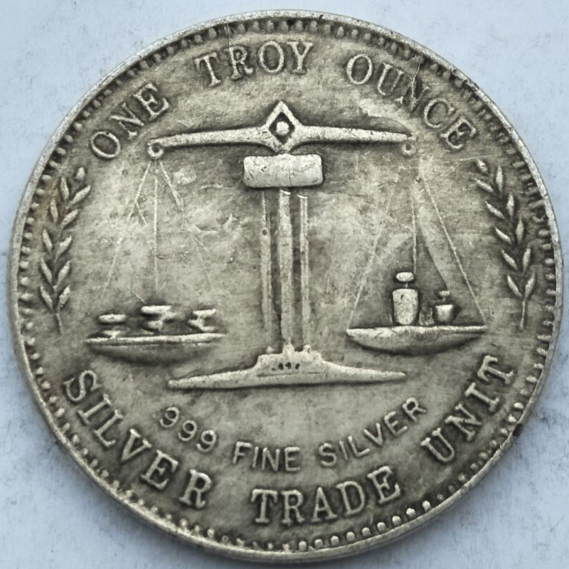 USA coins copy old replica coins collectible liberty silver trade unit one balance ounce antique copper coins hand craft