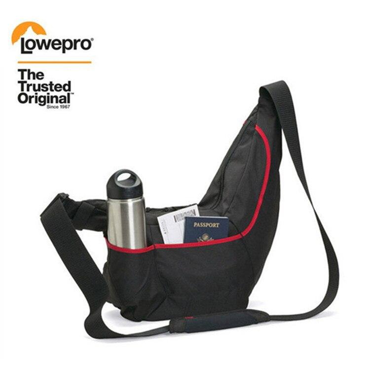 New Lowepro Passport Sling II DSLR Camera Bag Travel Inclined Shoulder Casual Bag