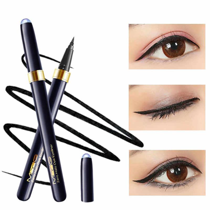 Neue Top qualität schwarz Eyeliner schlanke Wasserdicht Fließend Eyeliner stift Berufs augen make-up natürliche Gehobenen Eyeliner