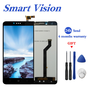 For ZTE ZMax Pro Z981 LCD Display with Touch Screen Digitizer Smartphone Replacement for zte z981 Free Tools