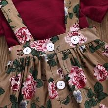Kids Casual Clothing Set – 3Pcs Skirt +Headband+Romper
