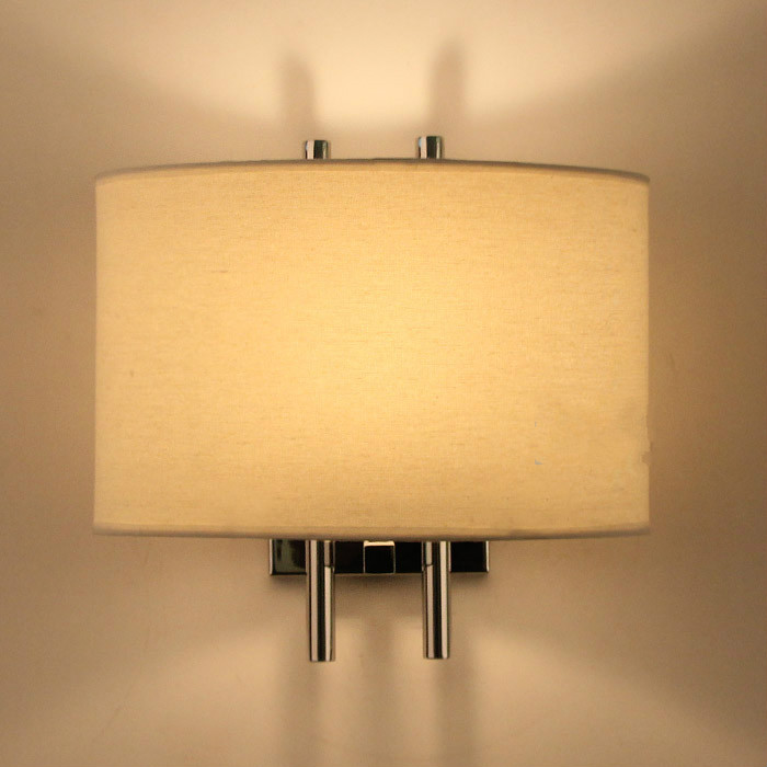 Bell wall lamp modern brief lighting bedside wall lamp fabric fashion lighting fitting led3158Bell wall lamp modern brief lighting bedside wall lamp fabric fashion lighting fitting led3158