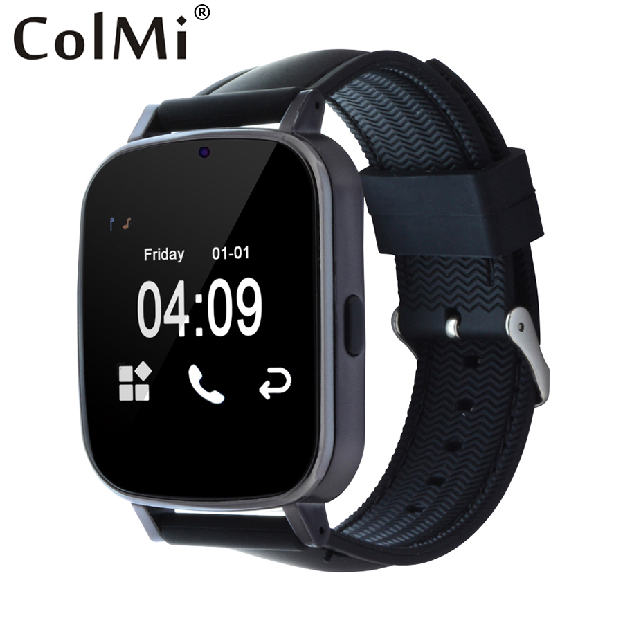 ColMi VS19 Smart Watch Detachable Strap Push Message Pedometer Sleep Monitor Connectivity Android Phone PK GT08 Smartwatch