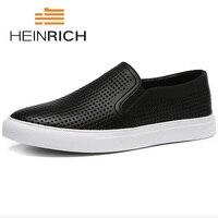 Генрих 2018 новый список Для мужчин повседневная обувь Мужская Мода Обувь с дышащей сеткой обувь Лоферы Удобная Мужская Обувь Sapato De Noiva