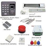 Супер предложения! Отпечаток пальца + пароль + Id карта биометрический контроль доступа и биометрический замок на Дверь Комплект для ввода (м