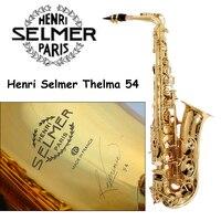 New High Quality France Henri Saxophone Alto 54 Musical Instruments Professional E Flat Sax Alto Saxophone