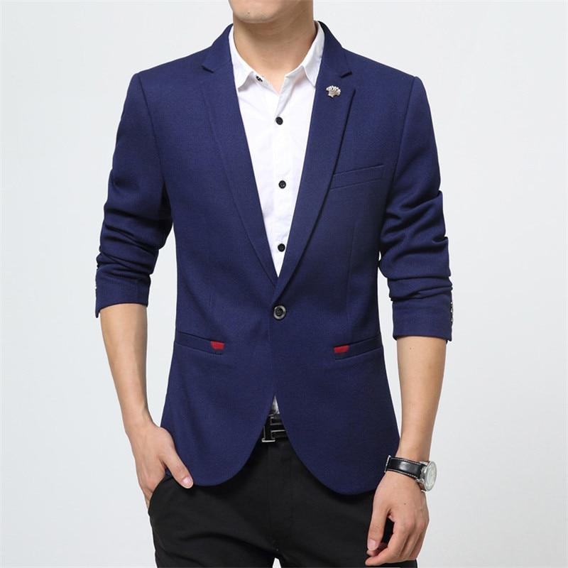 Tamaño Juvenil Casual Traje Slim blue621 Gran Chaqueta Hombre Coreana La  Nueva blue Primavera Black Juventud red Versión Otoño Pequeño ... 6b754688194