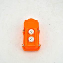 COB-61 серебряный контакт вверх вниз кнопочный Подъемный Кран кнопочный переключатель водостойкий COB61