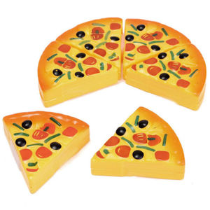 Image 5 - Baby Toys Newborn6PCS Kids Baby Pizza Party Fast Food Cooking Cutting Pretend Play Set Toy Gift  Kitchen Toys Baby Developmental
