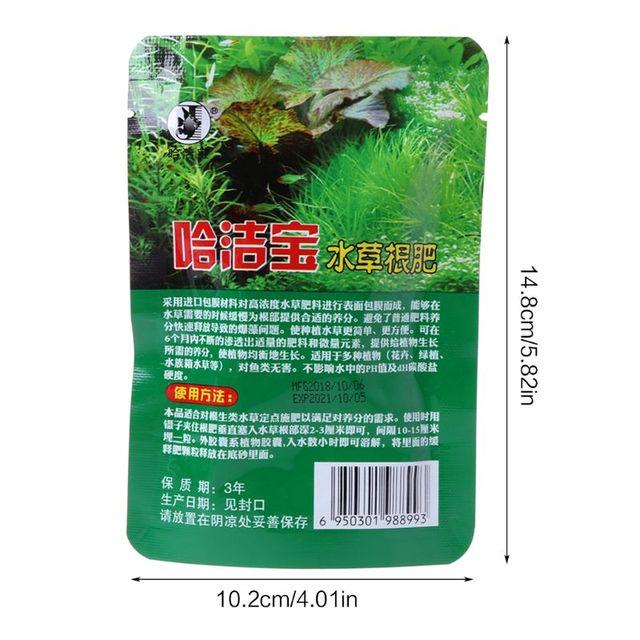 40 Pcs Aquatic Plant Condensed Aquarium Fish Tank Plant Fertilizer 6