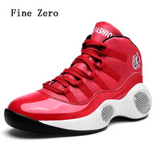 Fine Zero New Man High-top Basketball Shoes Men's Cushioning Light Basketball Sneakers Anti-skid Breathable Outdoor Sports Shoes(China)
