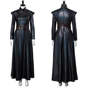 GOT Game of Thrones Cosplay Sansa Stark Cosplay Costume Outfit Uniform Sansa Stark Dress Halloween Carnival Costumes фото