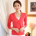 New Fashion Female Cardigans womens sweaters fashion autumn Long Sleeved Air Conditioning cardigan femme S-XXXL HD300