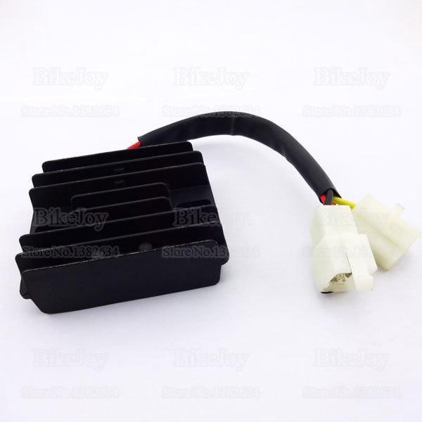 12V 6 wires DC Voltage Regulator Rectifier GY6 150cc 200cc