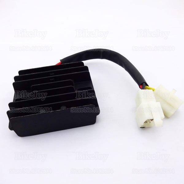 12V 6 wires DC Voltage Regulator Rectifier GY6 150cc 200cc 250cc