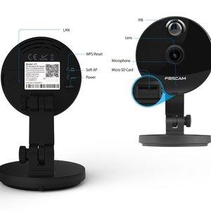 Image 4 - Foscam C1 IP Kamera Wireless 720P HD CCTV Indoor Sicherheit Kamera mit Nachtsicht Motion Erkennung Warnungen 2 weg Audio