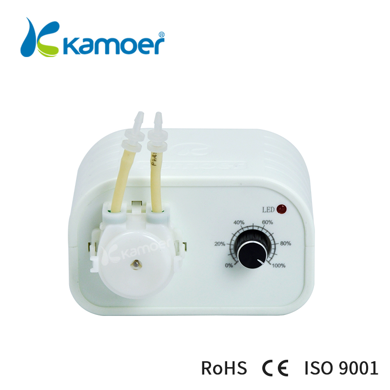 Kamoer KCP3 Peristaltic Pump (Manual Dosing Pump, Adjustable Speed Control, Reversal Working Support, Small Water Pump, For Lab) manual control valve f64f for water softener