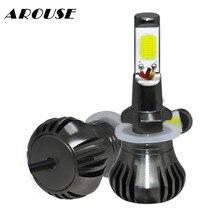 AROUSE 80W 9600LM COB LED 880 H27 H11 H3 Car Universal Fog Light Daytime Running Lights 12V Styling Headlights DC12v 24v