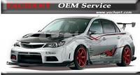 FRP Волокно Стекло VS Стиль обвес подходит для 2010 2014 Subaru Impreza WRX STI gvb
