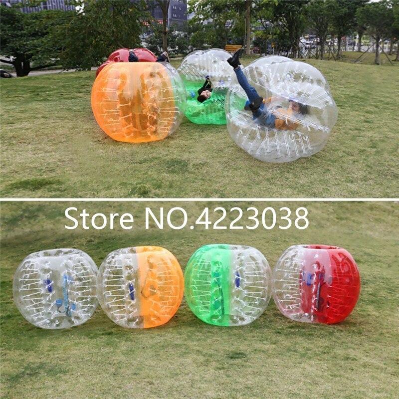Бесплатная доставка надувные бампер пузырь шаров, тело Зорб мяч футбольный бампер Футбол 1,5 м ПВХ