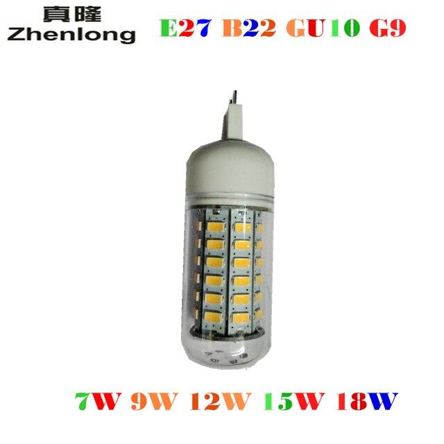Led Licht E27 Led Lampen 7 W 9 W 12 W 15 W 18 W 3000 Lumen Cree Smd