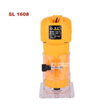 New Multi-function Trimming Machine SL 1608 Woodworking Slotting Engraving Machine Woodworking Trimmer 220v 50HZ 350W 3000r/min