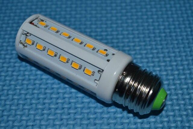 E14  E27 B22 5630 12W 42leds 1260lumen 220V  110v AC cool white warm white corn led bulb  Maize Lamp