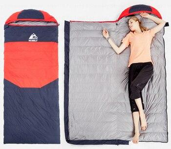 Saco de dormir para acampar al aire libre, saco de dormir cálido...
