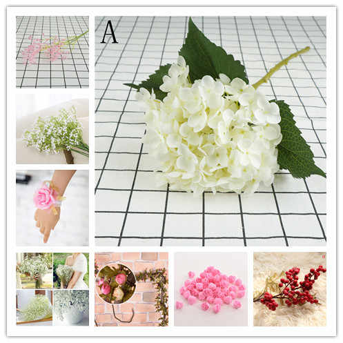 19 Styles Artificial Flower Bouquet Wedding Flower Decoration